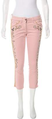 Isabel Marant Mid-Rise Straight-Leg Jeans Pink Mid-Rise Straight-Leg Jeans