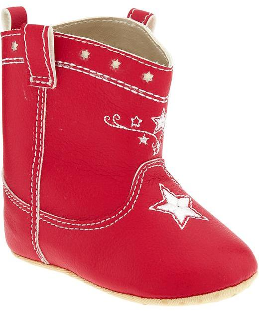 Old Navy Cowboy Boots for Baby