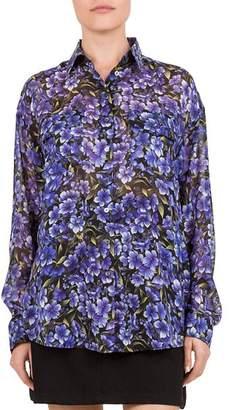 The Kooples Hortensia Silk Shirt