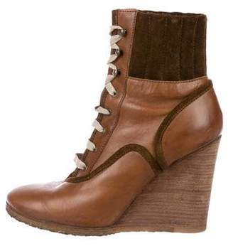 03dd7d7918bd Pre-Owned at TheRealReal · Chloé Suede Wedge Ankle Boots