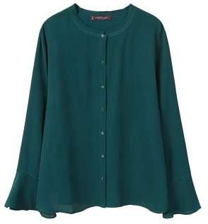 Violeta BY MANGO Bell sleeve shirt