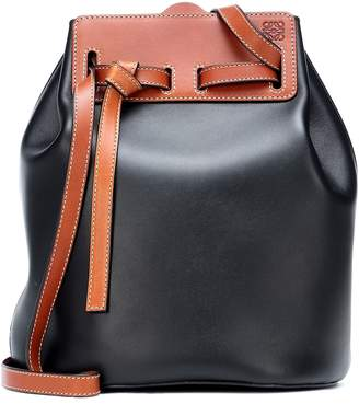 Loewe Lazo leather bucket bag