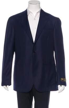 Ring Wool Three-Button Blazer w/ Tags