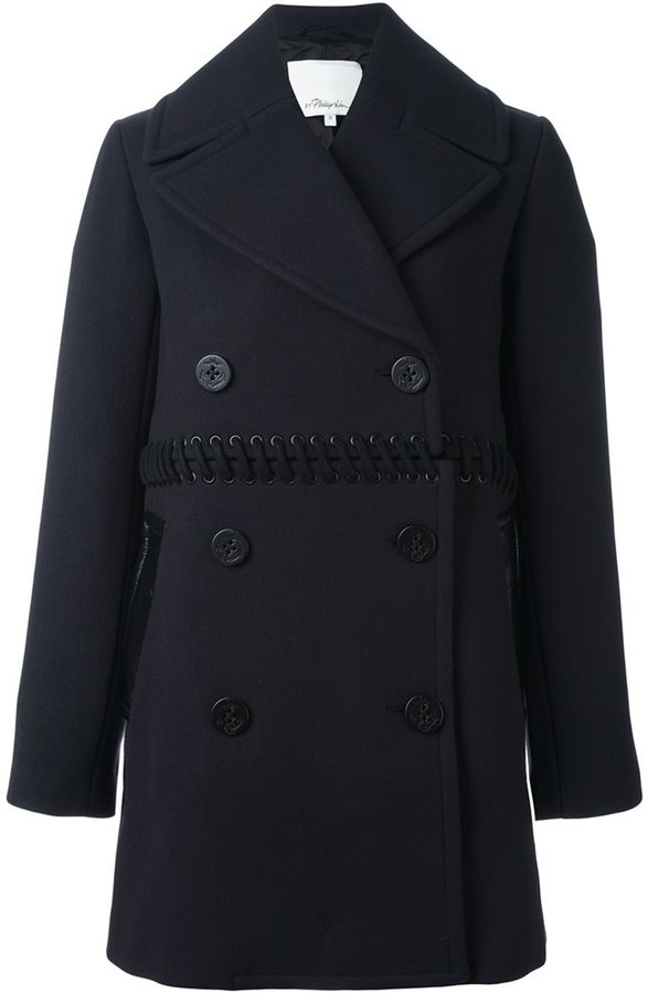 3.1 Phillip Lim 3.1 Phillip Lim lace-up detail coat