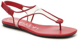 Calvin Klein Shilo Flat Sandal - Women's