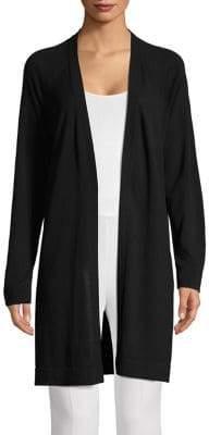 Eileen Fisher Open-Front Long Cardigan