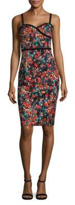 Black Halo Daria Sheath Dress