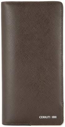 Cerruti vertical bifold wallet