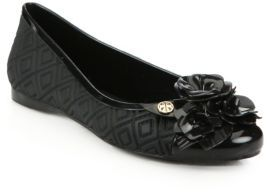Tory Burch Blossom Jelly Ballet Flats $175 thestylecure.com