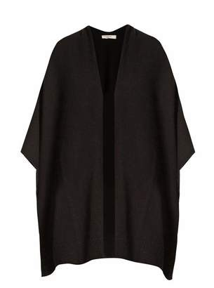 The Row Hern Cashmere Cape - Womens - Black