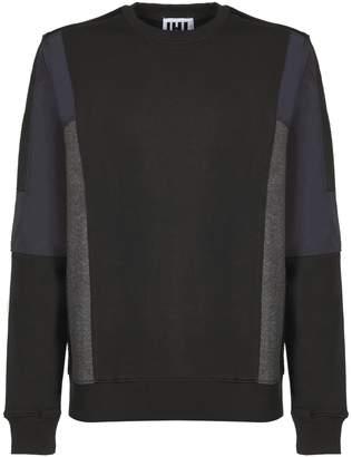 Les Hommes Colour Block Detail Sweatshirt