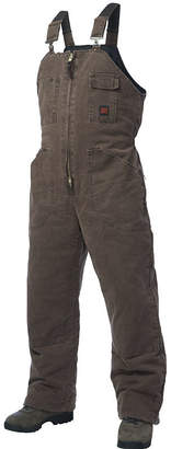JCPenney Tough Duck Washed Canvas Lined Bib Overalls