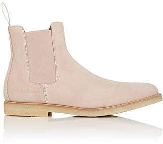 Common Projects Men's Suede Chelsea Boots