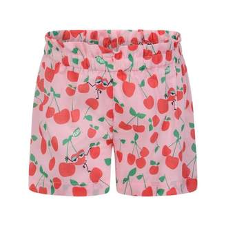 Fendi FendiBaby Girls Pink Cherry Print Shorts