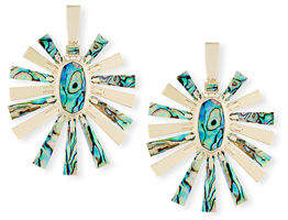 Kendra Scott Sigal Pearlescent Statement Earrings