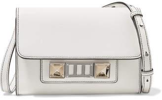 Proenza Schouler Ps11 Mini Leather Shoulder Bag - White