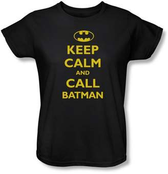 Batman Womens Call T-Shirt In