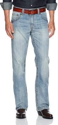 Wrangler Men's Rock 47 Slim Fit Boot Cut Jean