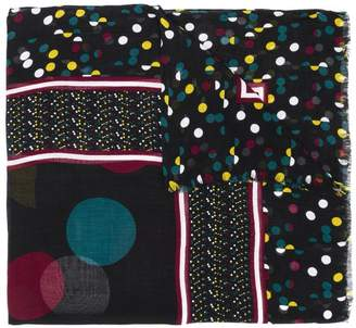 Diane von Furstenberg Eclipse Dot print scarf