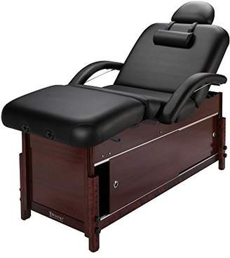 Master Massage Cabrillo Stationary Massage Table with Cabinet