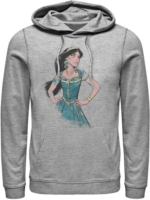 Disney Disney's Aladdin Men's Jasmine Painting Graphic Hoodie