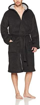 Kenneth Cole New York Men's Fleece Lined Robe