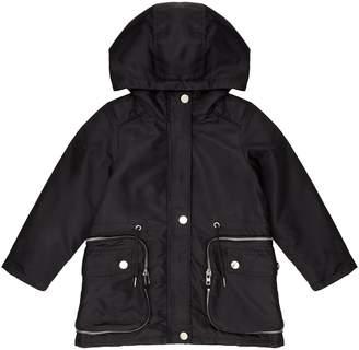 Givenchy Logo Parka Coat