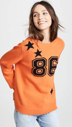 RED Valentino Varsity Sweater