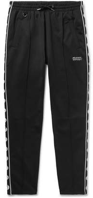 Belstaff + Sophnet Deepdale Slim-Fit Printed Cotton-Blend Jersey Sweatpants