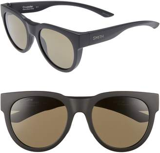 Smith Crusader 53mm ChromaPop(TM) Round Sunglasses