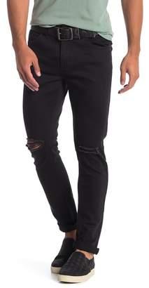 Rolla's Thin Captain Knee Slit Skinny Jeans