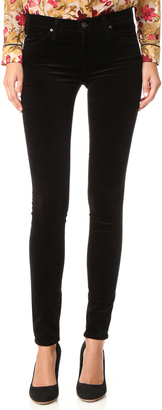 AG The Super Skinny Velvet Pants $198 thestylecure.com
