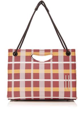 Hayward 1712 Mini Madras Checked Basket Bag