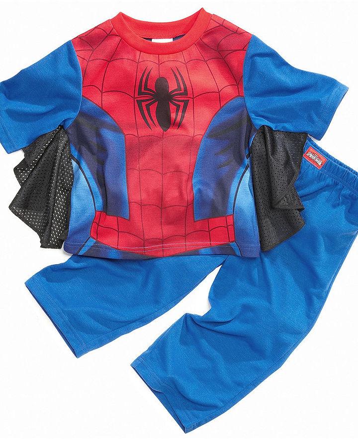 Spiderman AME Kids Pajamas, Boys or Little Boys 2-Piece Uniform