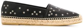 Saint Laurent star embellished espadrilles