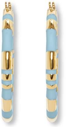 Vince Camuto Stripe Hoop Earrings