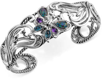 DAY Birger et Mikkelsen Carolyn Pollack Multi-Gemstone Butterfly Bracelet (2-1/5 ct. t.w.) in Sterling Silver