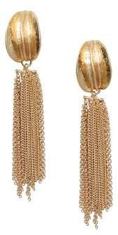 MANGO Hugo Chain Dangle Earrings