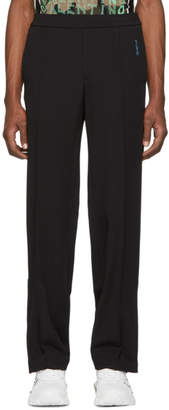 Valentino Black Wool Lounge Pants