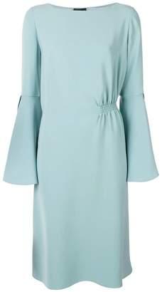 Giorgio Armani petal sleeve dress