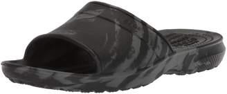 Crocs Unisex-Kids Classic Swirl GS Slide Sandal