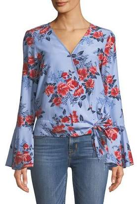 Parker Isabella Floral Silk Blouse