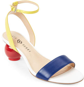 Katy Perry Space Blue & Yellow Adventure Color Block Sandals