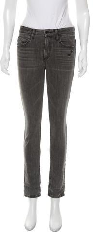 Helmut LangHelmut Lang Distressed Skinny Jeans