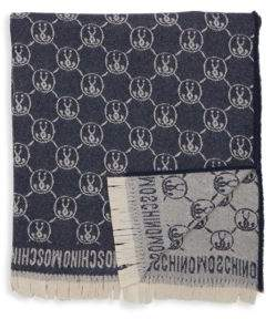 Logo Design Wool Blanket Scarf