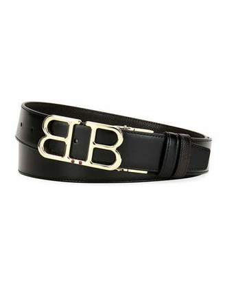 Bally Men's Britt B-Buckle Belt - Golden Hardware