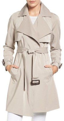 Women's Michael Michael Kors Trench Coat $228 thestylecure.com