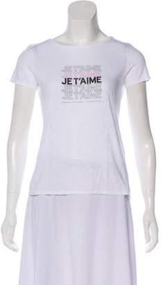 Jennifer Meyer Short Sleeve Graphic Top