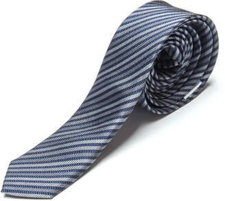 Appaman Boy's Diagonal Striped Silk Tie, Size S-XL