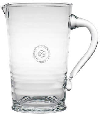 Juliska Clear Berry & Glass Thread Pitcher